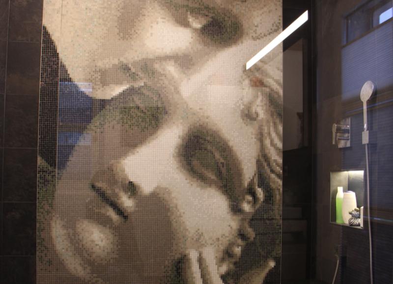 Glasmosaik von Armin Janser